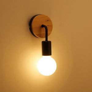 壁掛けライト ウォールランプ 玄関照明 階段照明 ブラケット 北欧 1灯 CYBD097