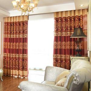 レースカーテン オーダーカーテン UVカット ジャカード 北欧 寝室用 シアーカーテン(1枚)