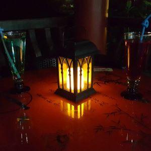 LEDソーラーライト LEDキャンドル ガーデンライト 庭園灯 ランタンライト LEH55153
