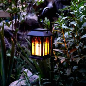 LEDソーラーライト LEDキャンドル ガーデンライト 庭園灯 ランタンライト LEH55153G