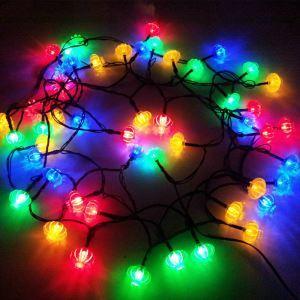 LEDソーラーライト LEDイルミネーションライト LEDストリングライト パーティー 祝日飾り LEH19098