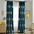 遮光カーテン オーダーカーテン 刺繍 豪華 3級遮光カーテン(1枚)
