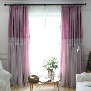 遮光カーテン オーダーカーテン シアーカーテン付き ジャカード オシャレ 3級遮光カーテン(1枚)