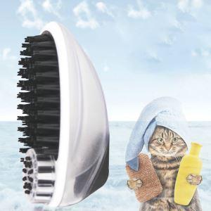 ペットシャワーブラシ シャワーブラシ シャンプーブラシ 犬猫兼用 ペットの櫛 抜け毛取り クリーナー