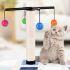 猫爪とぎポール キャットタワー つめとぎ キズ防止 おもちゃ付 ボール付き 麻縄巻き ストレス解消