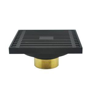 床排水トラップ 床排水金具 ドレイン パネル 排水口用 真鍮製 ORB 7411