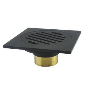 床排水トラップ 床排水金具 ドレイン パネル 排水口用 真鍮製 ORB 7409