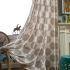 遮光カーテン オーダーカーテン 捺染 花柄 オシャレ 3級遮光カーテン(1枚)