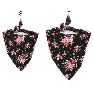 ペットスカーフ バンダナスカーフ 三角スカーフ 唾液スカーフ  ネッカチーフ  ペットビブ オシャレ 調節可能