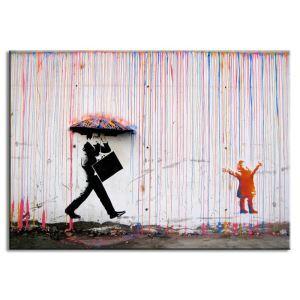 絵画 油彩画 アートパネル 装飾絵画 壁飾り 落書き プレゼント 1pcs 30*45cm
