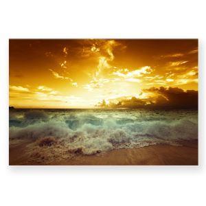 絵画 油彩画 アートパネル 装飾絵画 壁飾り 日の入り プレゼント 1pcs 30*45cm
