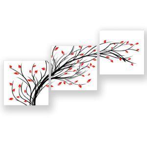 絵画 油彩画 アートパネル 装飾絵画 壁飾り 木 プレゼント 3pcs 30*30cm