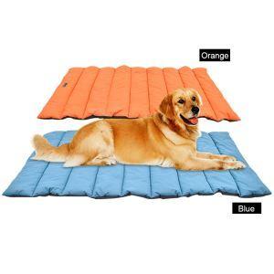 ペットマット 犬 猫 ベッド クッション ケージ用敷物 柔らかい 寝心地がよい 防寒 滑り止め 清潔簡単