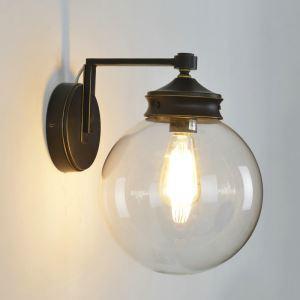 レトロな壁掛けライト ウォールランプ 玄関照明 ブラケット 北欧風 1灯