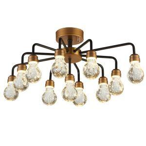 LEDシーリングライト 照明器具 ダウンライト リビング照明 寝室照明 放射状 LED対応 11灯 QM6011