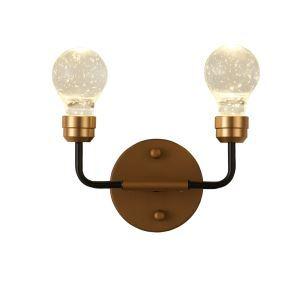 LED壁掛け照明 ウォールランプ 玄関照明 ブラケット 照明器具 レトロ LED対応 2灯 QM6102B