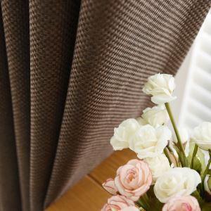 遮光カーテン オーダーカーテン 編み柄 純色 現代風 1級遮光カーテン(1枚)