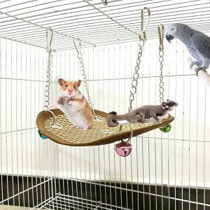ペットハンモック クールマット 吊り床 犬 猫 ハムスター 小型動物用 取り付け簡単 接触冷感 夏