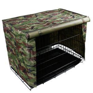 ケージカバー ペット小屋カバー ペット対応 防風 防雨 防塵 迷彩柄