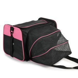 ペットキャリー バッグ 拡張可能 通気性抜群 高品質 折りたたみ キャリーケース 旅行 散歩 アウトドア