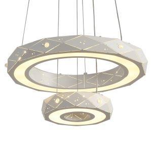 LEDペンダントライト 照明器具 店舗照明 リビング照明 おしゃれ照明 LED対応 20cm+40cm QMJX10512