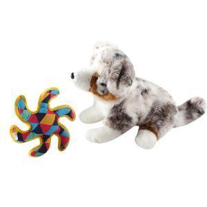 ペットおもちゃ 犬のおもちゃ 六角ダーツ 遊ぶダーツ 音が出る 歯ぎしり ストレス解消 知育