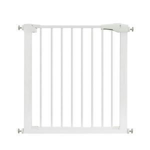ペットフェンス 安全ゲート ドア付き オートクローズ 取付簡単 侵入防止 安全保護 75~82cm