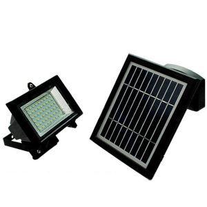 LEDソーラーライト 屋外ライト 壁掛け照明 ソーラーパネル分離式 LEH53414BW