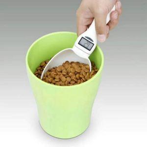 ペット用食物計り 食品計量スプーン 電子計量スプーン 計り スプーンスケール 過食防止 肥満対策