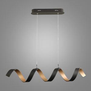 LEDペンダントライト 照明器具 リビング照明 天井照明 食卓照明 オシャレ LED対応 螺旋型