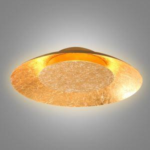 LEDシーリングライト 照明器具 間接照明 リビング照明 天井照明 オシャレ LED対応 金色