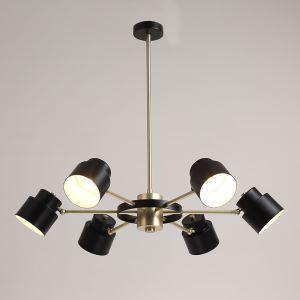 シャンデリア 照明器具 リビング照明 店舗照明 天井照明 北欧風 魔豆型 10灯 2色 QM6602A