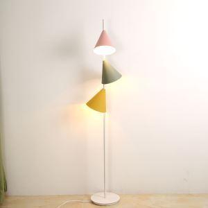 フロアランプ フロアスタンド リビング照明 寝室照明 書斎照明 ポストモダン オシャレ 3灯 QM66033F