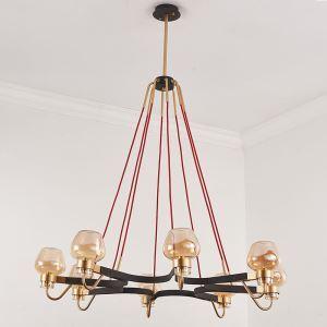 シャンデリア 照明器具 リビング照明 店舗照明 天井照明 北欧風 8灯 QM6604L8P