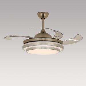 LEDシーリングファンライト シャンデリア 照明器具 リビング照明 ダイニング照明 オシャレ LED対応 リモコン付 QM30011