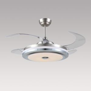 LEDシーリングファンライト シャンデリア 照明器具 天井照明 リビング照明 オシャレ LED対応 リモコン付 QM20051