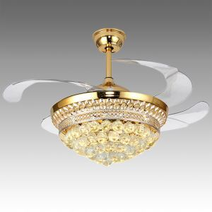 LEDシーリングファンライト シャンデリア 照明器具 リビング照明 ダイニング照明 オシャレ LED対応 リモコン付 QM50221