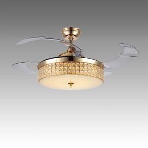 LEDシーリングファンライト シャンデリア 照明器具 リビング照明 ダイニング照明 オシャレ LED対応 リモコン付 QM50251