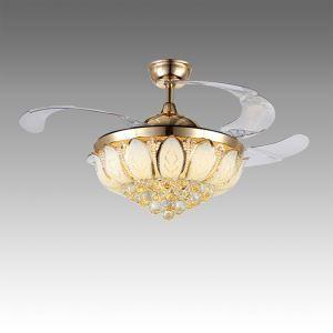 LEDシーリングファンライト シャンデリア 照明器具 リビング照明 ダイニング照明 オシャレ LED対応 リモコン付 QM50311