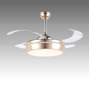 LEDシーリングファンライト シャンデリア 照明器具 天井照明 リビング照明 オシャレ LED対応 リモコン付 QM50381