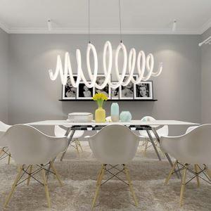 LEDペンダントライト 照明器具 リビング照明 天井照明 食卓照明 オシャレ LED対応 螺旋型 CI532