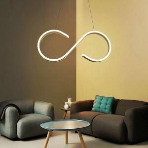 LEDペンダントライト 照明器具 リビング照明 天井照明 食卓照明 オシャレ LED対応 S型 CI545