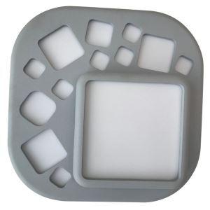 LEDシーリングライト 照明器具 間接照明 玄関照明 天井照明 子供屋照明 LED対応 灰色 方形