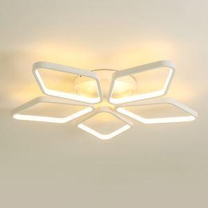 LEDシーリングライト 照明器具 間接照明 リビング照明 天井照明 オシャレ 菱形 LED対応 五環 CP103