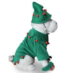 ペット服 クリスマスツリー服 クリスマス 犬猫用 変身服 可愛い コスプレ コスチューム
