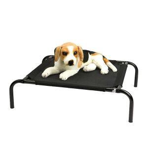 ペットベッド ペットコット 脚付きコット型 スチール製フレーム 折り畳み式 キャンプ用 犬猫用