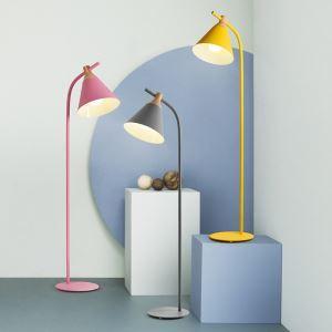 フロアランプ フロアスタンド リビング照明 寝室照明 書斎照明 ポストモダン 1灯 5色