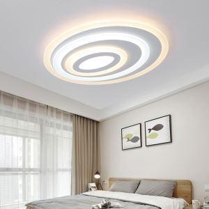 LEDシーリングライト 照明器具 天井照明 リビング照明 店舗照明 オシャレ 楕円形 多層柄 LED対応