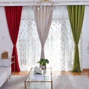 遮光カーテン オーダーカーテン エンボス 純色 オシャレ 3級遮光カーテン(1枚)