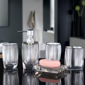 浴室用品 サニタリー容器 樹脂製 創造的 5点セット BE016